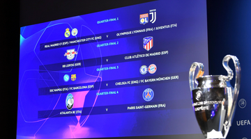 Champions League quarter-final and semi-final draws