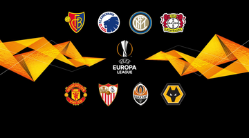 Europa League quarter-finals on Monday and Tuesday