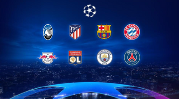 Champions League quarter-finals: meet the qualified teams