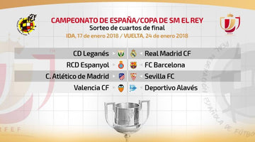 BARÇA AND MADRID WILL FACE CITIZEN CHALLENGES IN CUP 1/4 FINALS