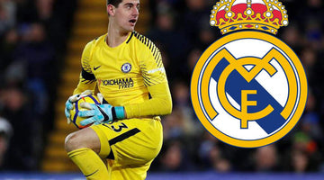 Courtois, new Real Madrid player