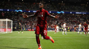 From holiday to history: Divock Origi and Champions League finals