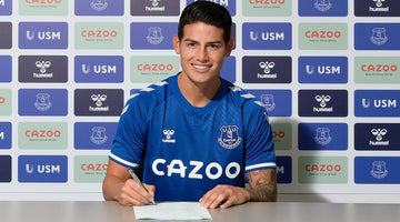 James Rodriguez joins Everton from Real Madrid
