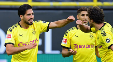 Emre Can earns Borussia Dortmund the spoils against Hertha Berlin