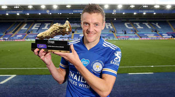 Vardy claims Golden Boot award for first time