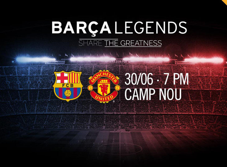 FC Barcelona v Manchester United - LEGENDS