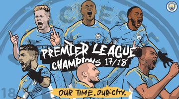 Manchester City, Premier League 2017-18 champions!