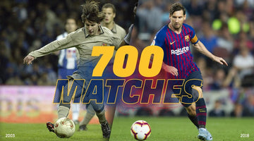 Leo Messi is one game shy of 700 as a Barça player