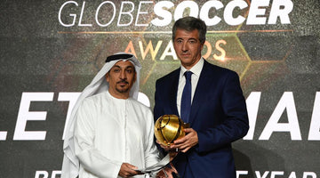 Atlético de Madrid crowned as Best Club of the Year in the Globe Soccer Awards