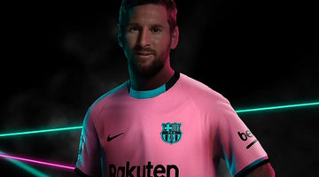 Lionel Messi: Barcelona forward models new shirt ahead of training return
