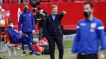 Koeman: The Madrid derby? The best thing is for the one at the top to drop points
