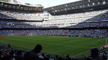 The Santiago Bernabéu shows off its new pitch