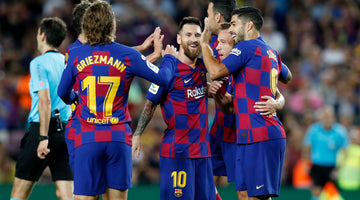Messi equals Samitier's total of Copa del Rey appearances