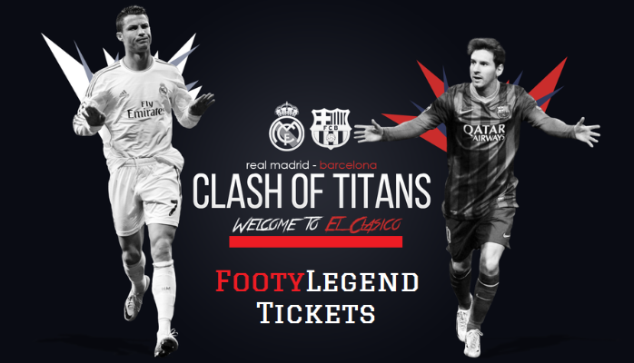 Tickets for Barcelona vs Real Madrid - The hottest Spanish affair