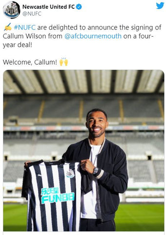 Callum Wilson has signed for Newcastle United FC.