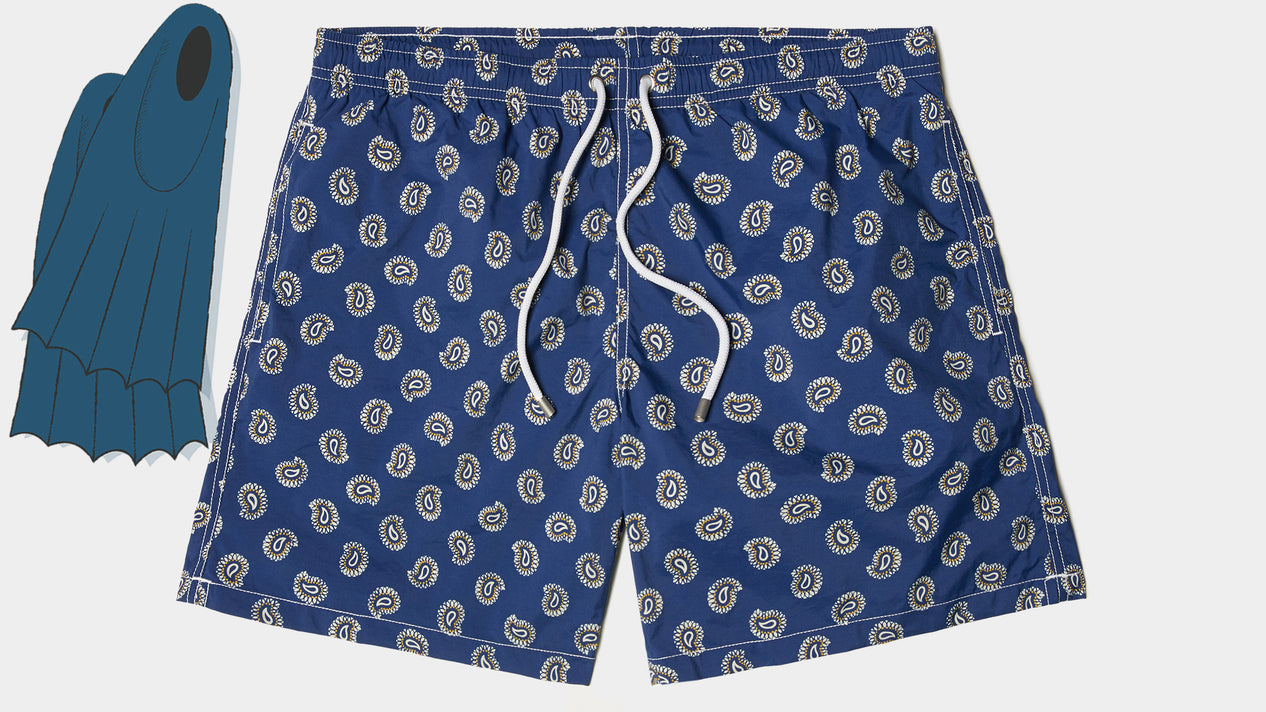 Velasca Swim Shorts Bagnin Dark blue Polyamide