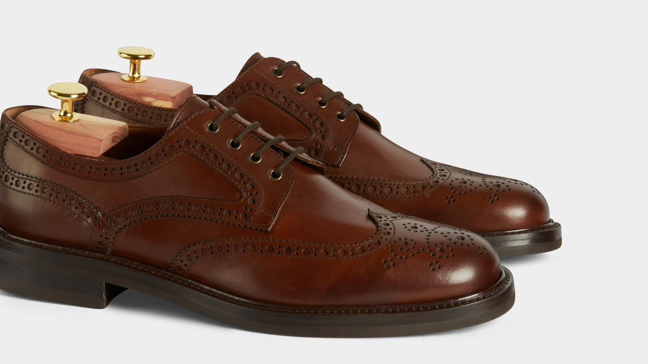 Velasca Barabba Brown Full grain leather