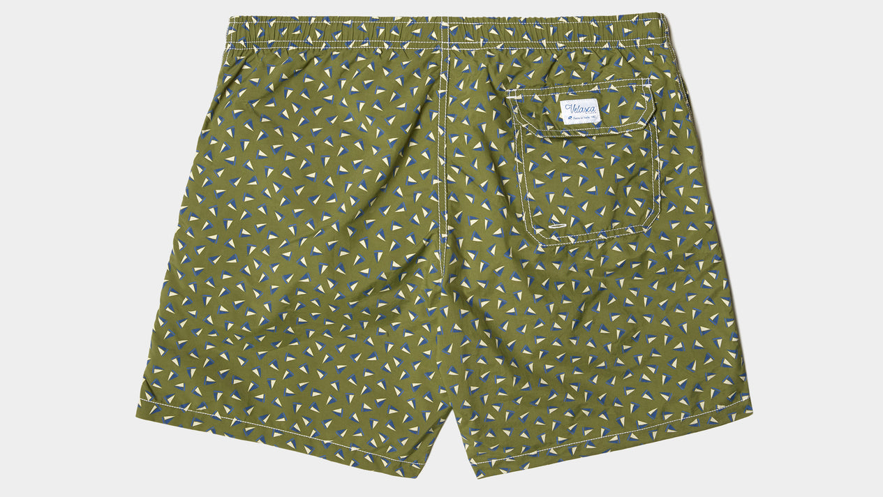 Velasca Swim Shorts Barchiroeu Green Polyamide
