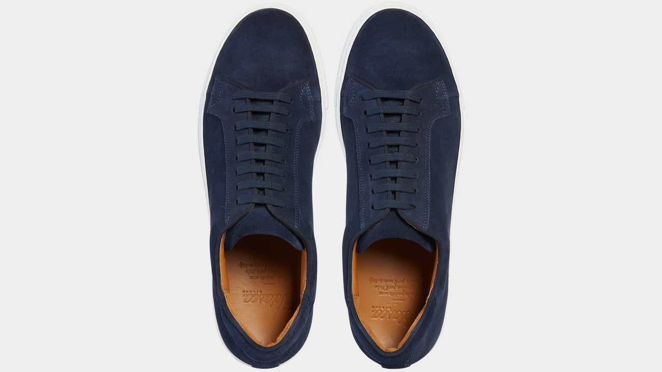 Velasca Belèratt Blue Suede leather