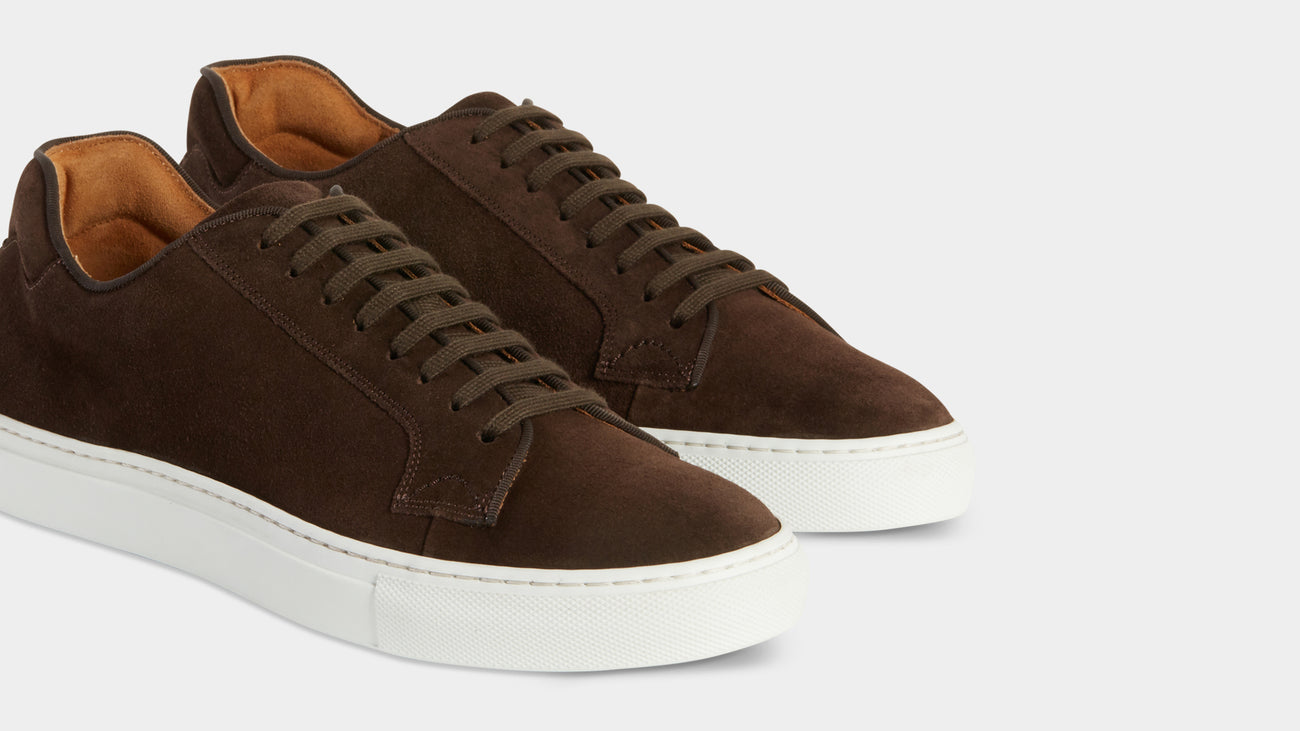 Velasca Athletics Belèratt Dark brown Suede leather