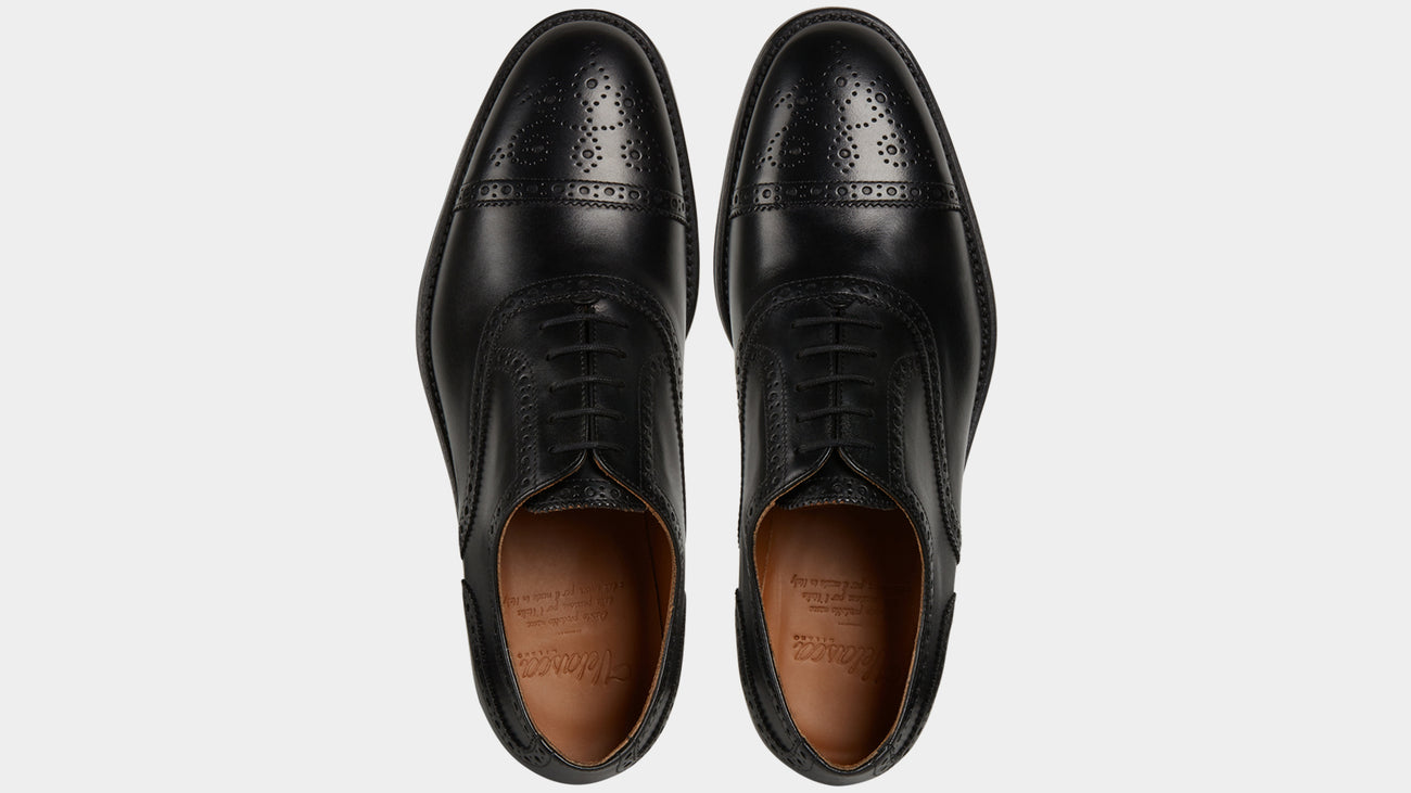 Velasca Brumista Black Full grain leather