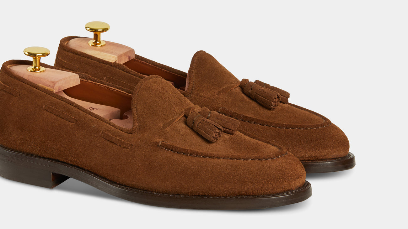 Velasca Cadregatt Tobacco brown Suede leather