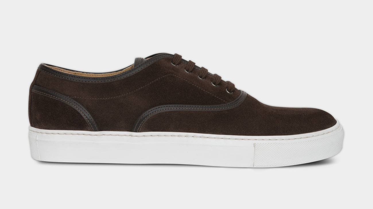 Velasca Caramelat Dark brown Suede leather