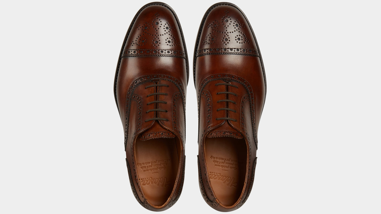 Velasca Oxfords Cavadent Brown Crust leather