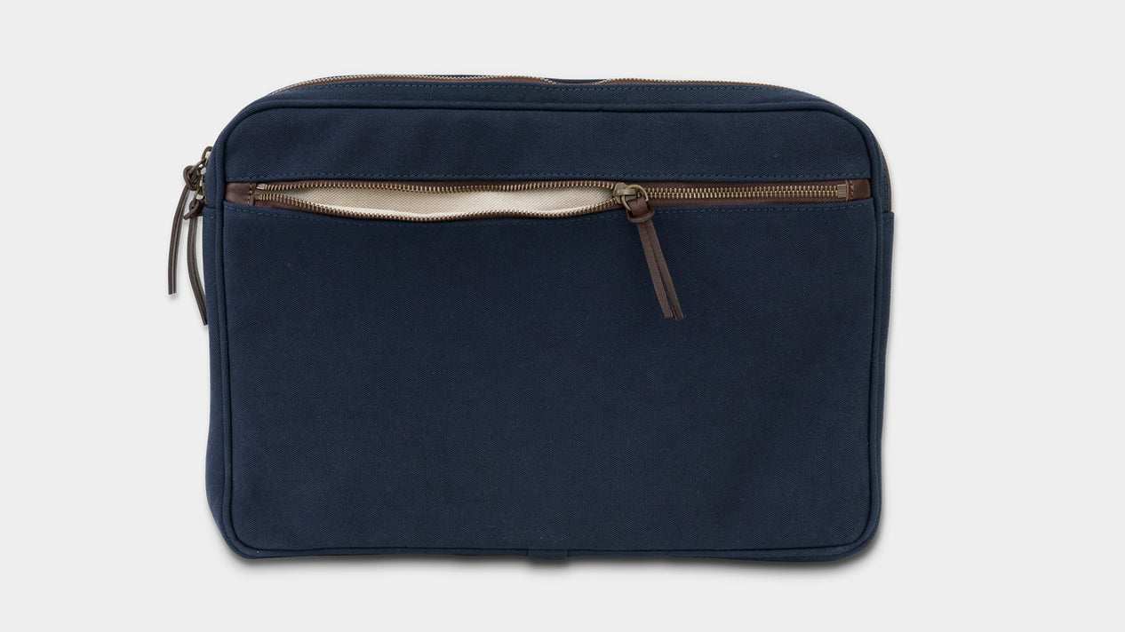 Velasca Bags Cavagna Blue Canvas