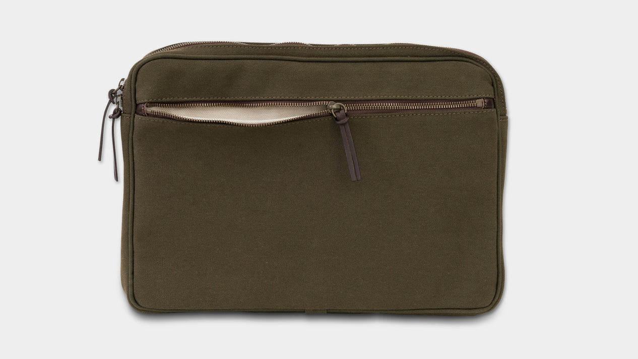 Velasca Bags Cavagna Green Canvas