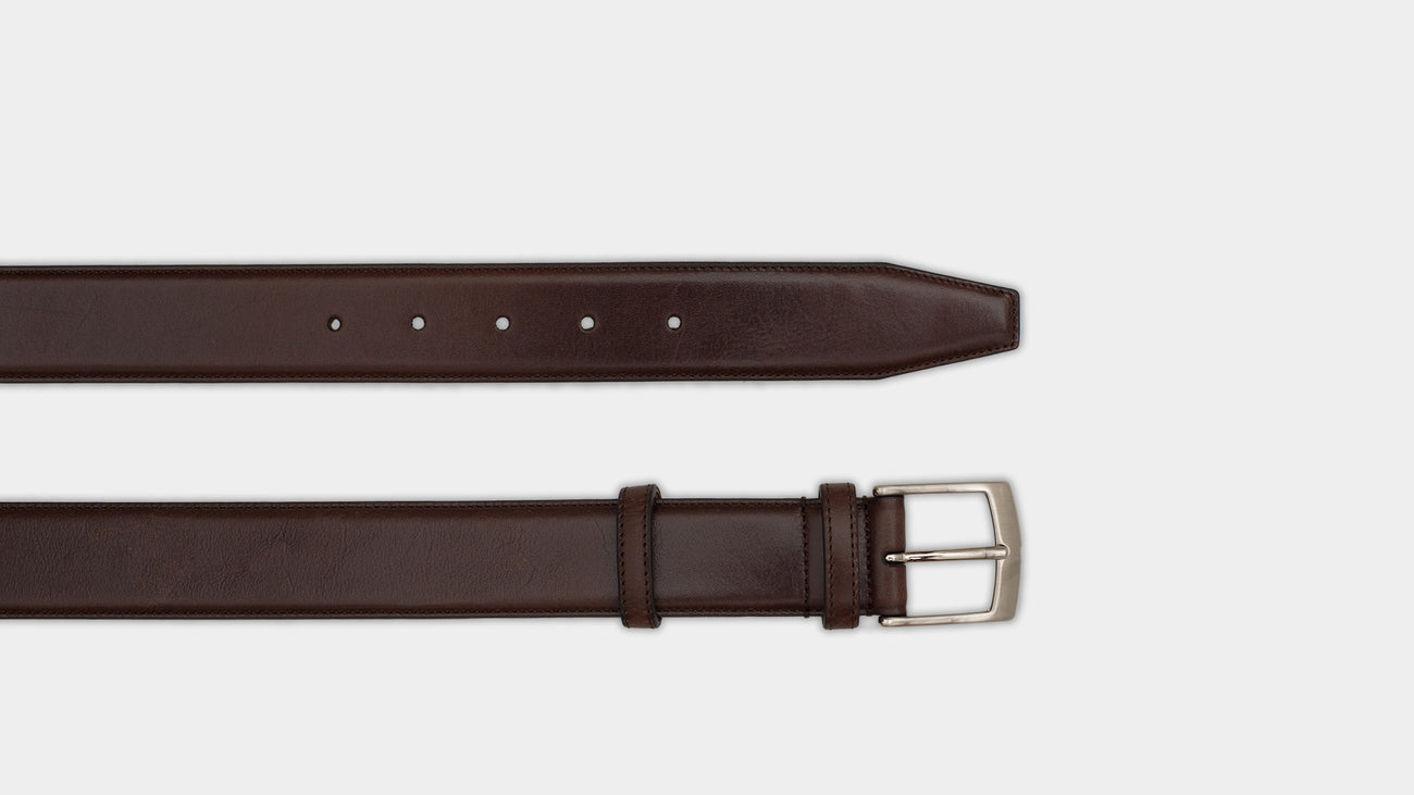 Velasca Belts Cinta Brown Smooth calf leather