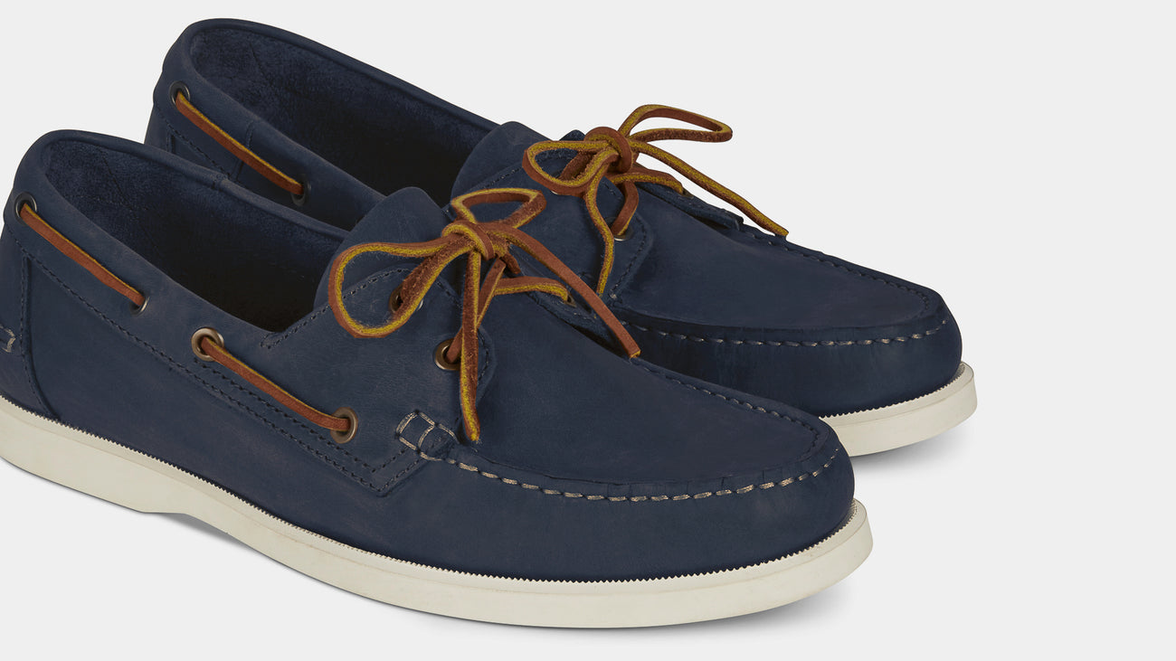 Velasca Gambaree Blue Rustic leather