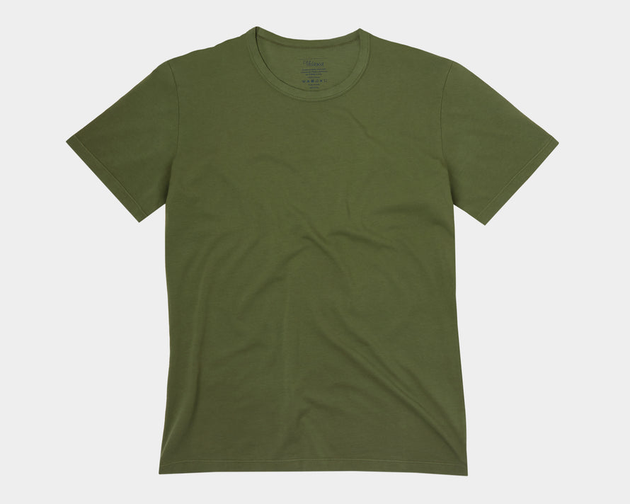 Velasca T-shirts Gugia Green 100% cotton