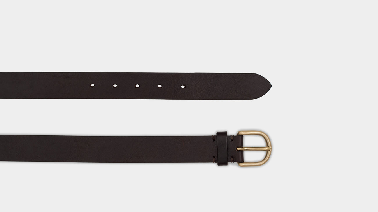 Velasca Belts Naster Dark brown Leather