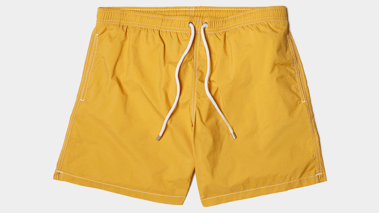 Velasca Swim Shorts Pescador Yellow Polyamide