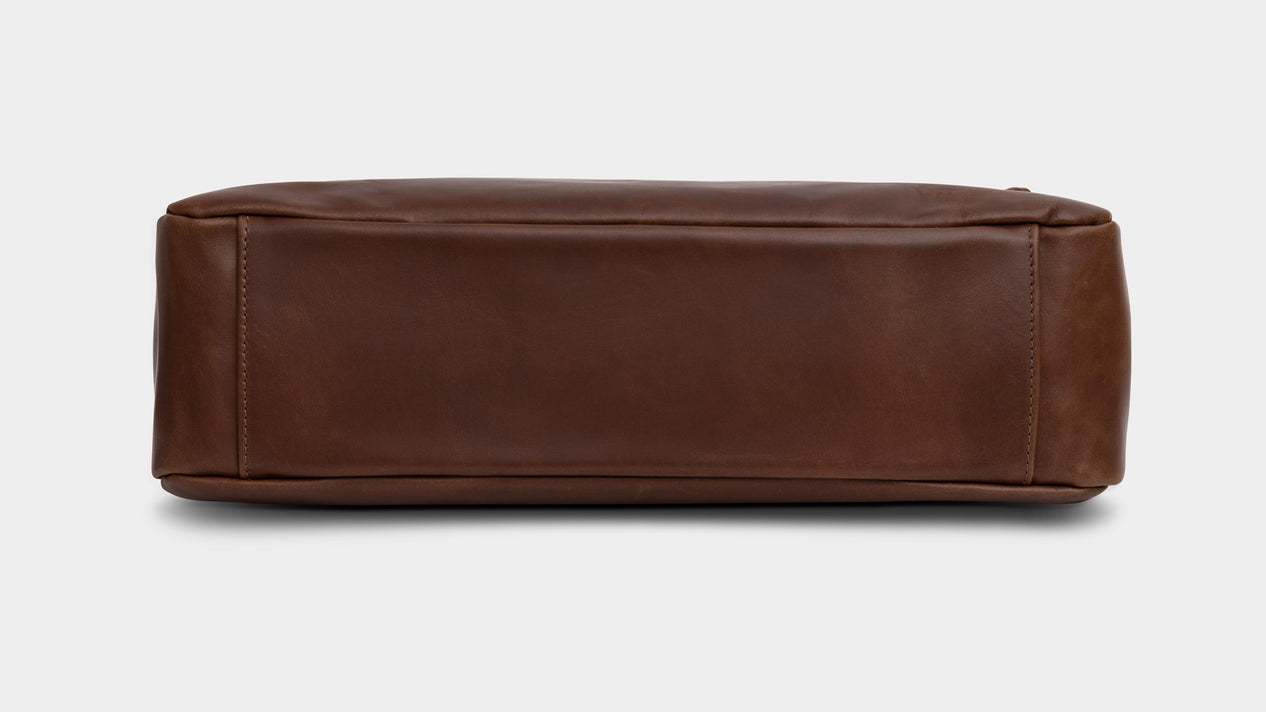 Velasca Ravanà Brown Antiqued full grain leather