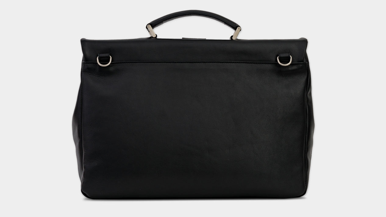 Velasca Ravanà Black Full grain leather