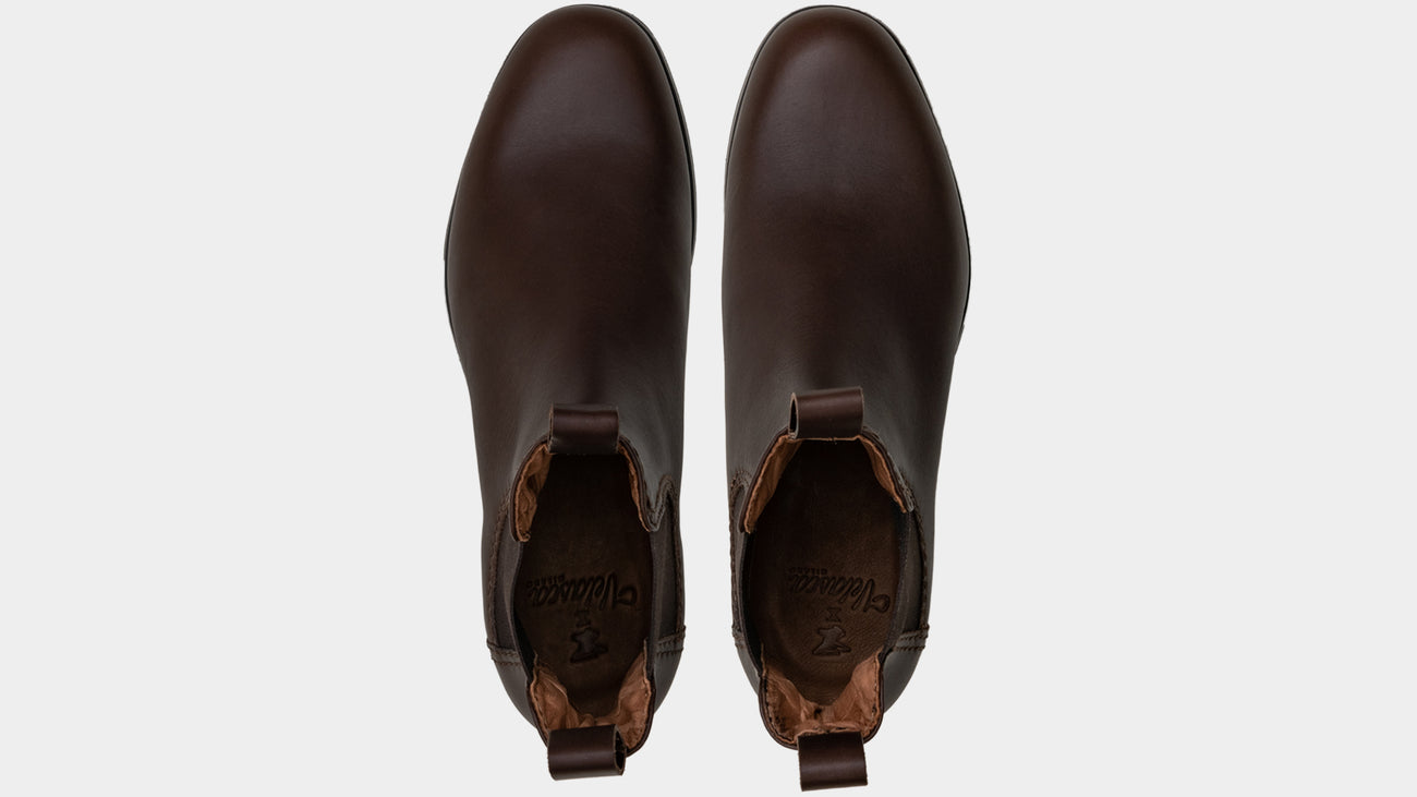 Velasca Scout Dark brown Full grain leather