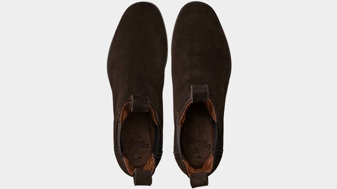 Velasca Scout Dark brown Suede leather