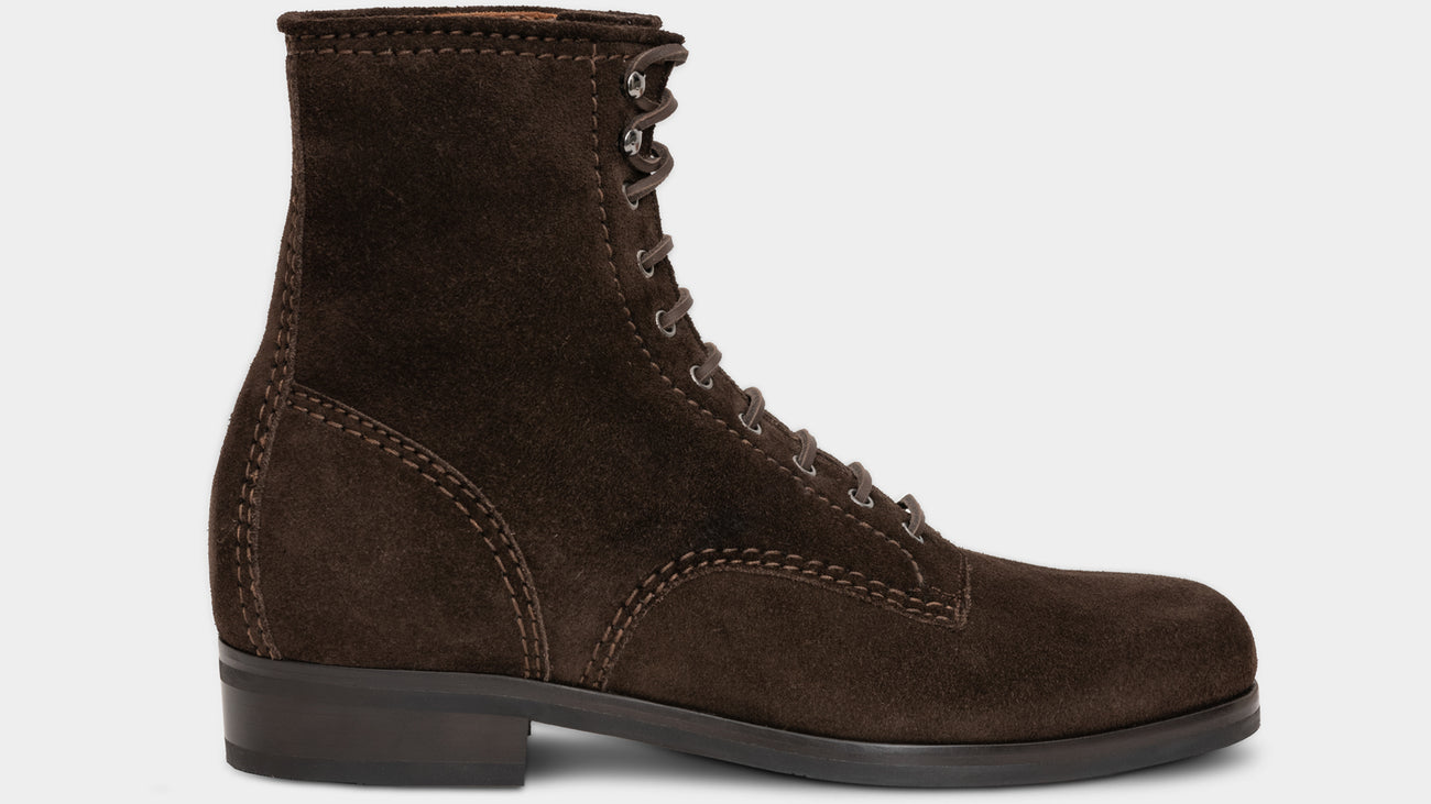 Velasca Willys Dark brown Suede leather