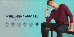 Intelligent apparel homepage hero banner