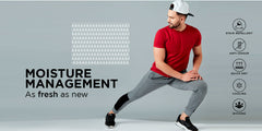 Moisture management homepage hero banner