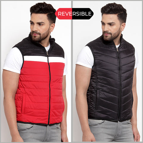 Lee Reversible - Black & Red