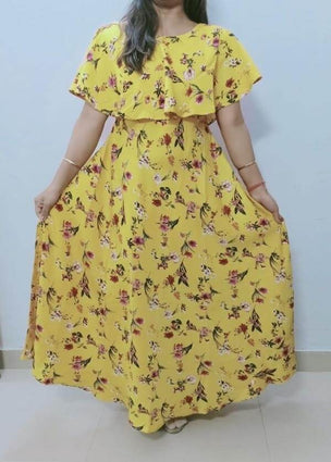 MAXI GOWN YELLOW