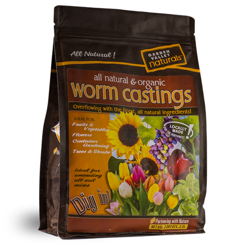 Worm Castings Soil Amendment