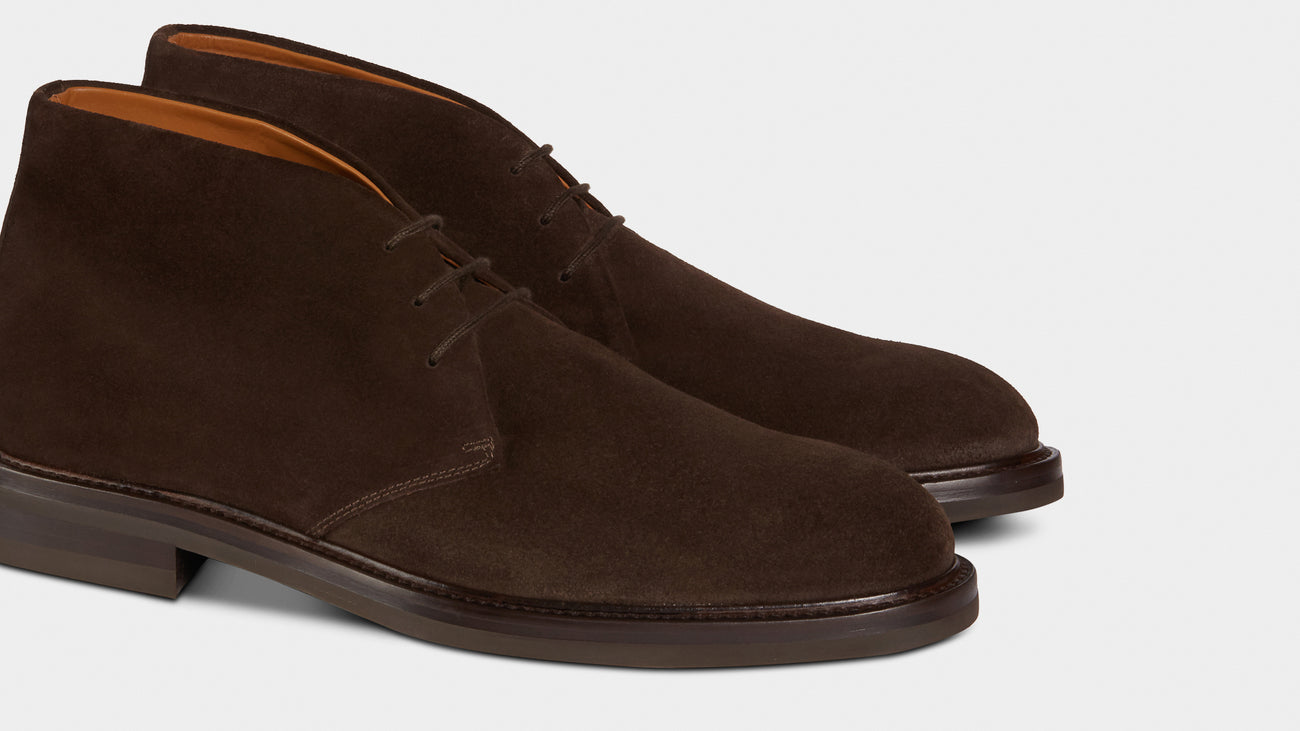 Velasca Artista Dark brown Suede leather