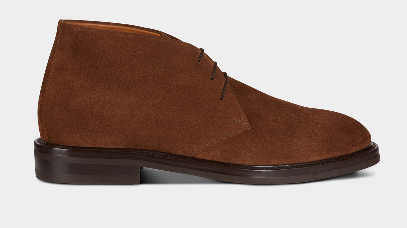 Velasca Artista Tobacco brown Suede leather