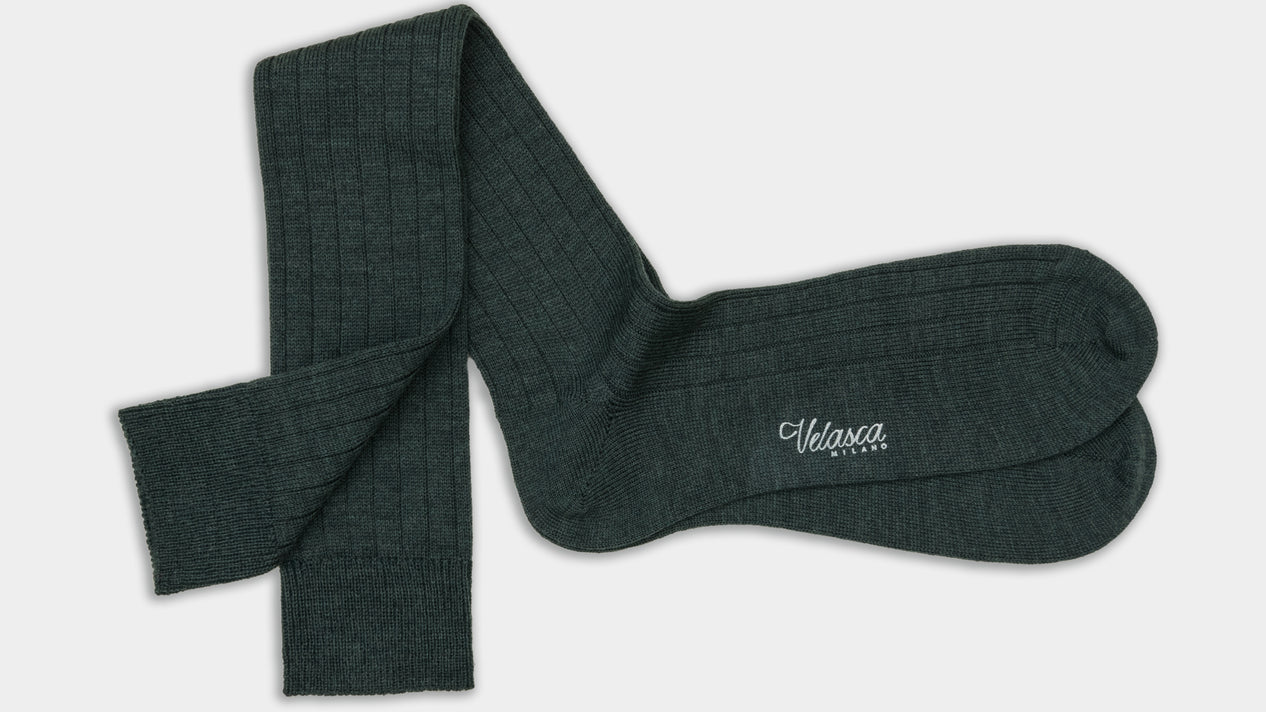 Velasca Brasca Dark green Wool