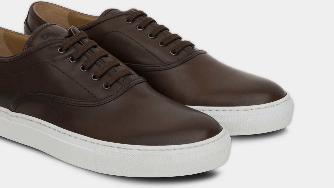 Velasca Caramelat Dark brown Full grain leather