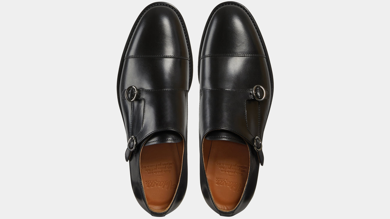Velasca Castagnatt Black Full grain leather